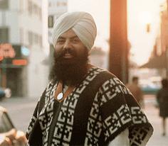 Yogi Bhajan a Los Angeles