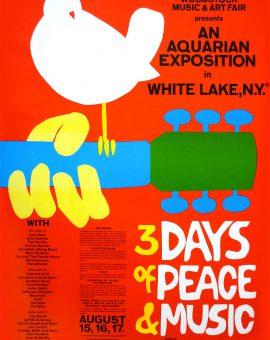 poster di Woodstock