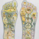 Ai piedi del Maestro: la tavola illustrata dei piedi